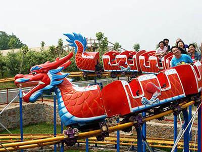слайд дракон трек поезд