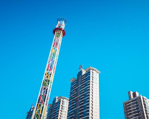 Аттракцион башня свободного падения в Казахстане
