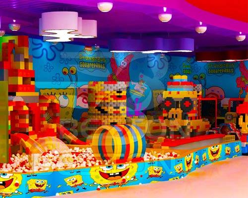 Детский-лабиринт-Лего