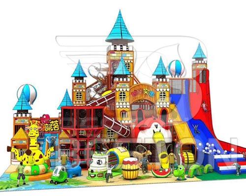 Детский-лабиринт-Замок