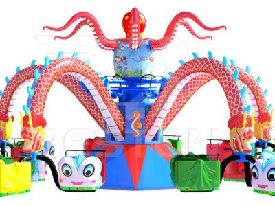 Аттракцион осьминог