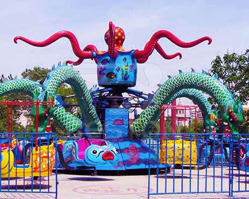 Аттракцион осьминог карусель